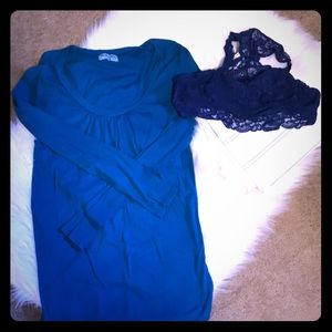Maternity Bundle: Michael Stars Tunic & Motherhood